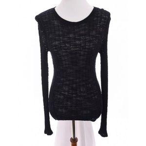 Michael Kors Linen Burnout Sweater Sz S